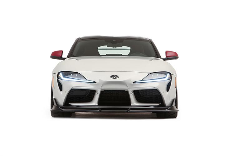 Toyota GR Supra Sport Top one-off concept car diseño potencia techo desmontable