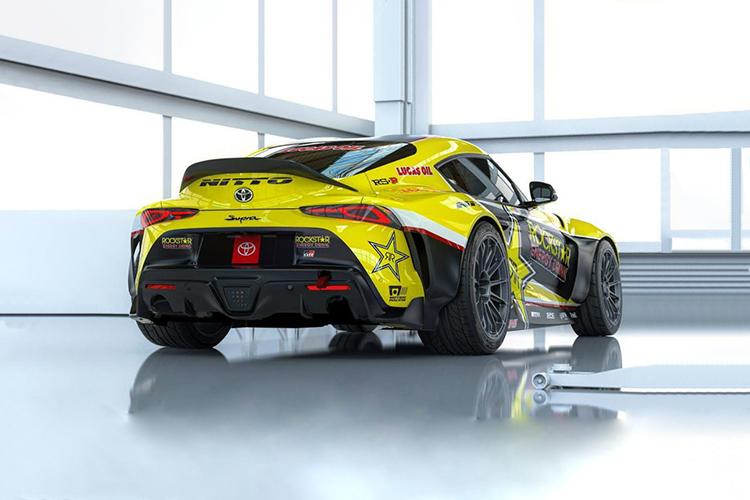 Toyota GR Supra de Papadakis Racing carrocería