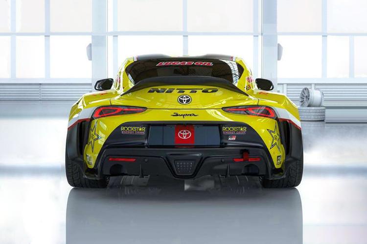 Toyota GR Supra de Papadakis Racing nuevo alerón