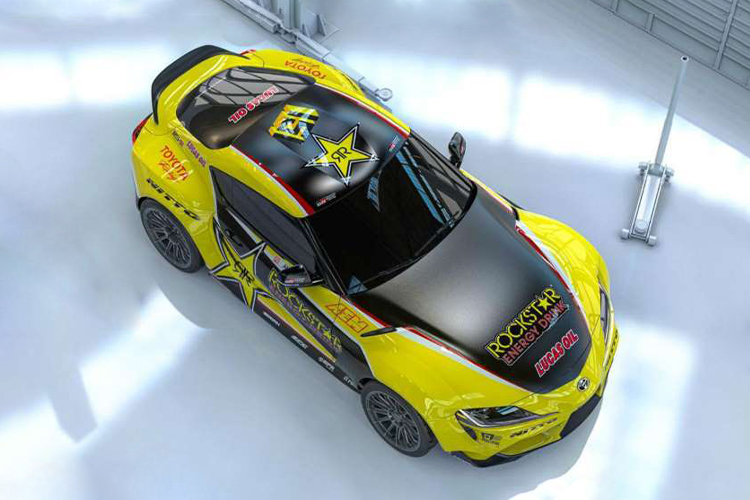 Toyota GR Supra de Papadakis Racing tamaño