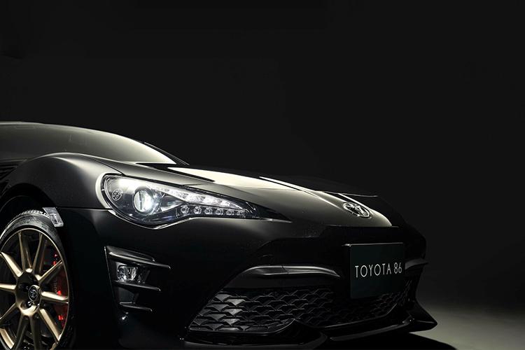 Toyota GT86 Black Limited faros