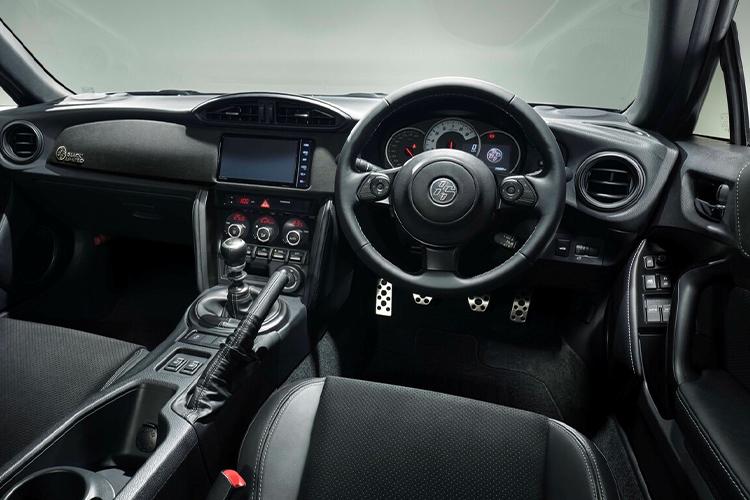 Toyota GT86 Black Limited sistema de infoentretenimiento