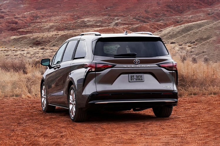 Toyota Sienna 2021 híbrido carrocería