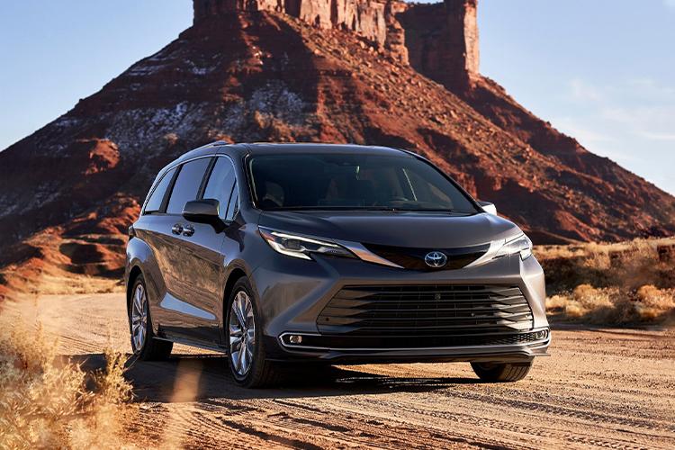 Toyota Sienna 2021 híbrido tecnología innovaciones
