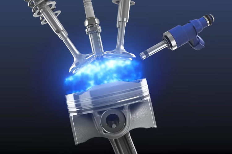 Toyota con motor de hidrógeno nuevo desarrollo cero emisiones innovaciones rendimiento