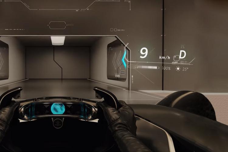 Toyota e-Racer lentes con realidad aumentada velocidad