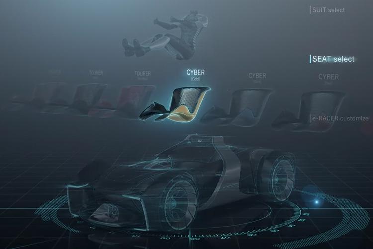 Toyota e-Racer render