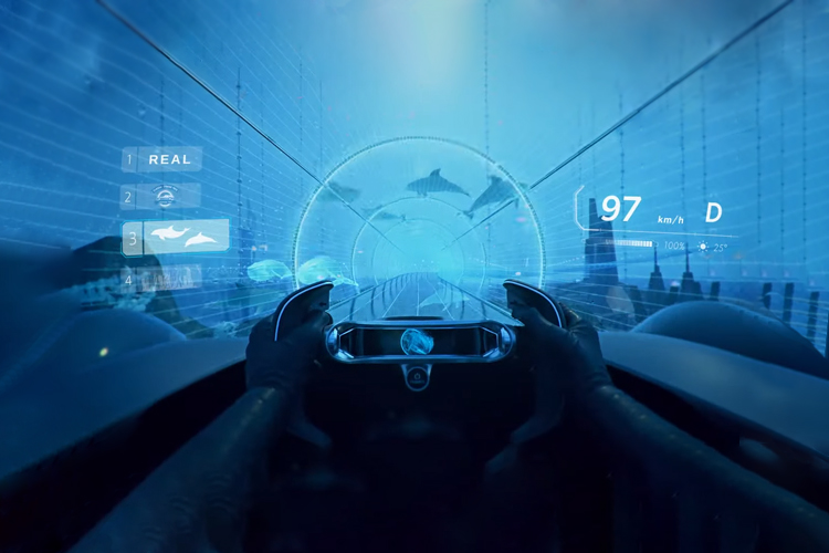 Toyota e-Racer simulacion