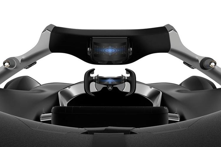 Toyota e-Racer tecnologia