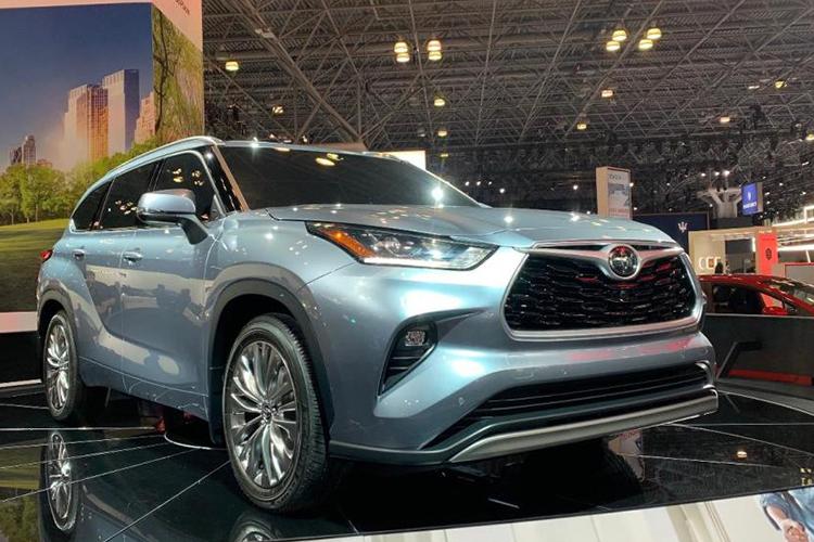 Toyota highlander 2020 exhibicion