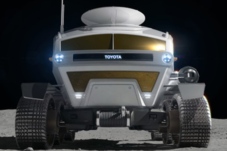 Toyota y JAXA vehiculo explorador