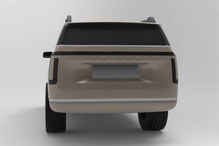 Triton Model H SUV diseño