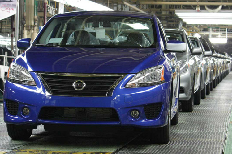 Ventas de autos nuevos en México producción en México