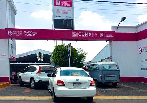 CDMX podria ser solo 1 verificación engomado