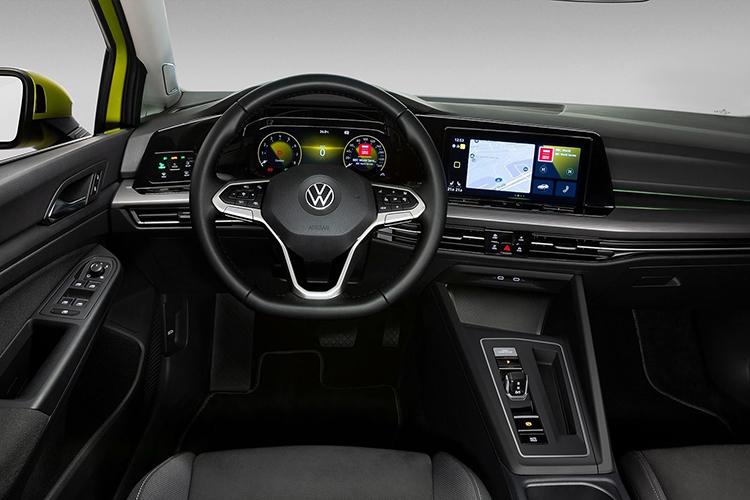 Volkswagen Golf 8 sistema de infoentretenimiento