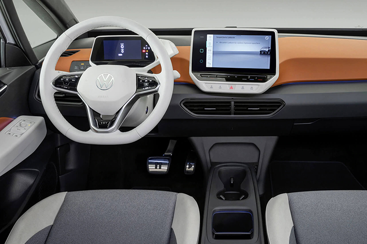 Volkswagen ID.3 llega en Septiembre sistema de infoentretenimiento