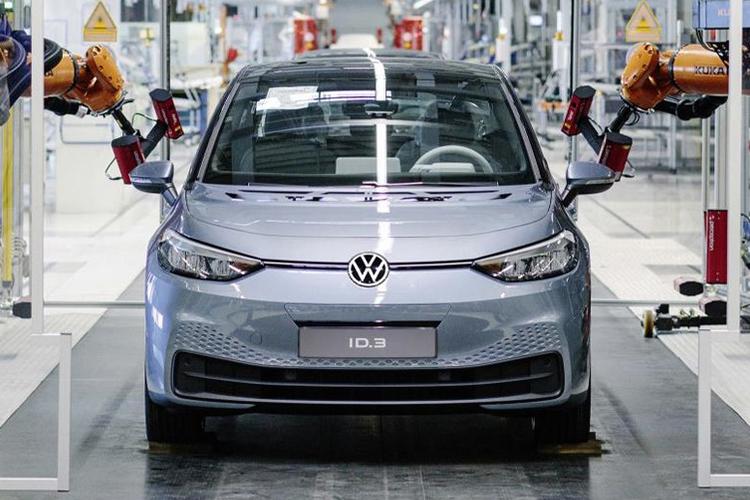 Volkswagen ID.3 primer unidad de producción