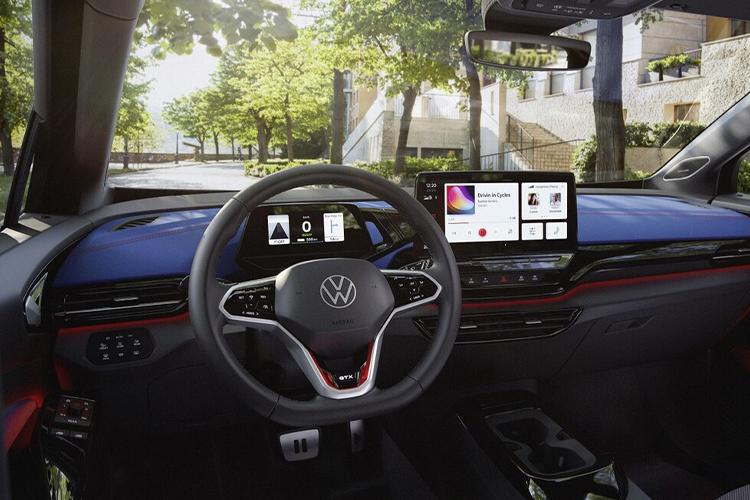 Volkswagen ID.4 GTX deportivo sistema de infoentretenimiento diseño desempeño
