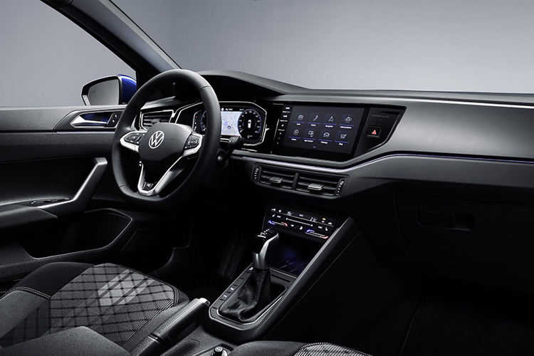 Volkswagen Polo 2022 rediseñado sistema de infoentretenimiento