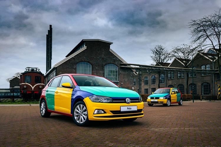 Volkswagen Polo Arlequín 2021 edición especial carrocería one-off Blue Monday