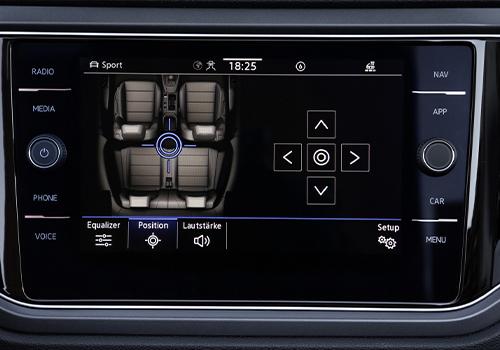 Volkswagen T-Roc Cabrio pantalla táctil