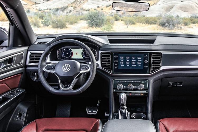 Volkswagen Teramont y Teramont Cross Sport sistema de infoentretenimiento