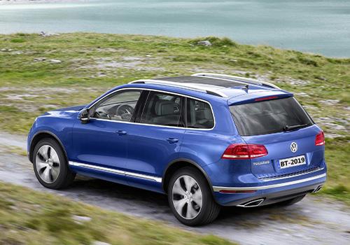 Volkswagen Touareg vehículo que no veremos en México 2020