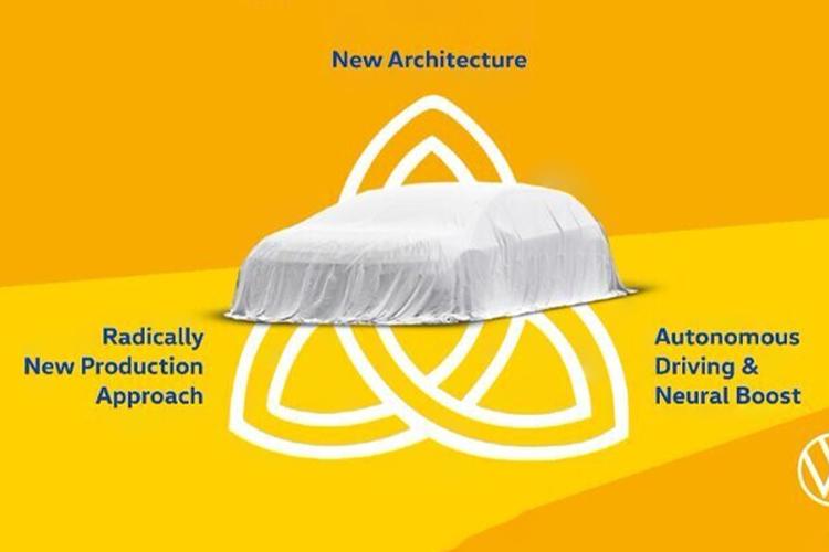 Volkswagen Trinity autónomo y totalmente eléctrico diseño desempeño