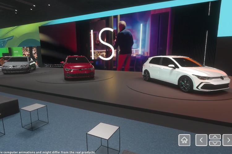 Volkswagen experiencia virtual Auto Show de Ginebra_modelos Golf