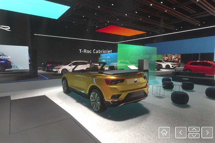 Volkswagen experiencia virtual Auto Show de Ginebra_modelos