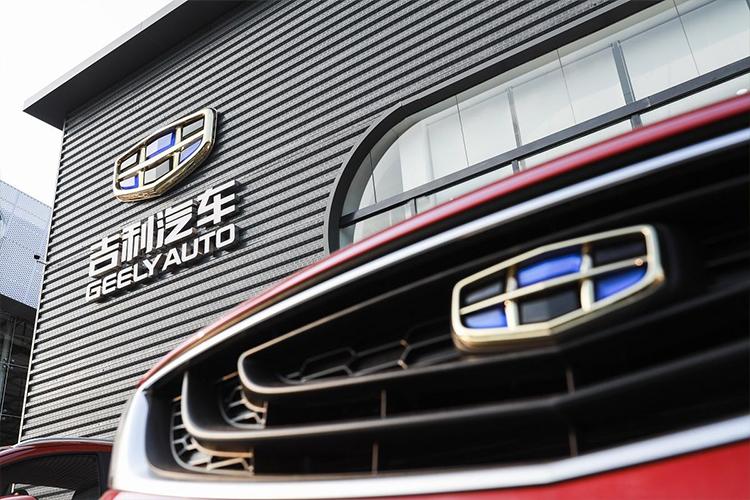 Volvo y Geely vehiculos