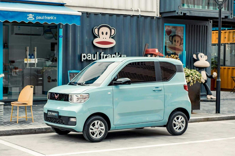 Wuling Hong Guang Mini EV supera en ventas a Tesla biplaza tecnología