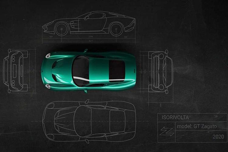 Zagato IsoRivolta GTZ edición especial diseño clásico
