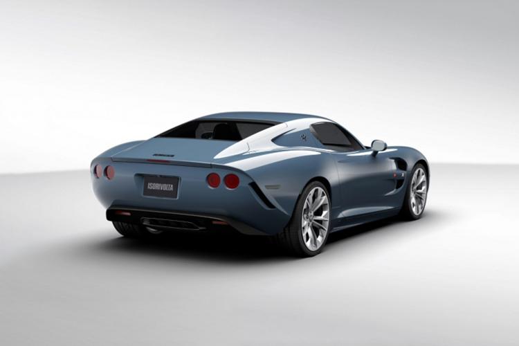 Zagato IsoRivolta GTZ edición especial motor V8
