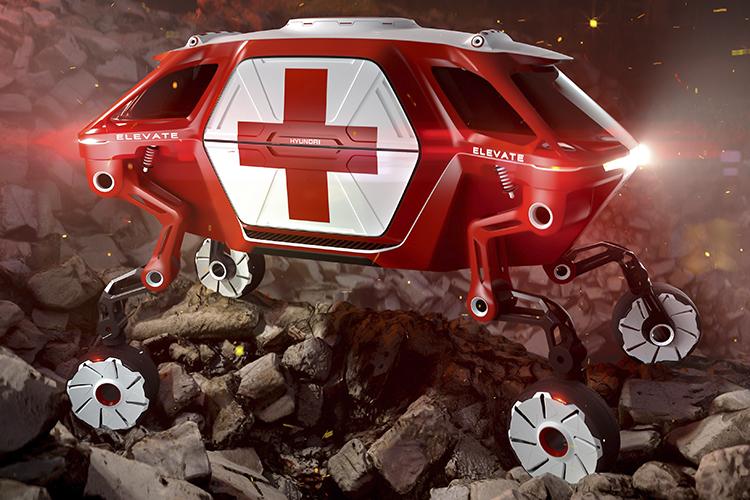 ambulancia hyundai elevate completa prototipo