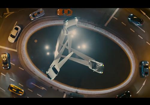 anuncio Porsche para Superbowl biplaza, de carrera