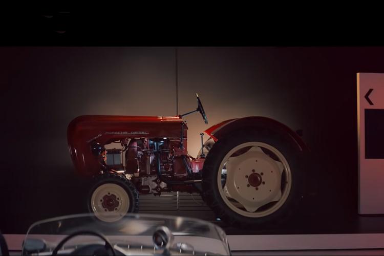 Tractor para Superbowl historia 1960 Tractor Porsche Diesel Master