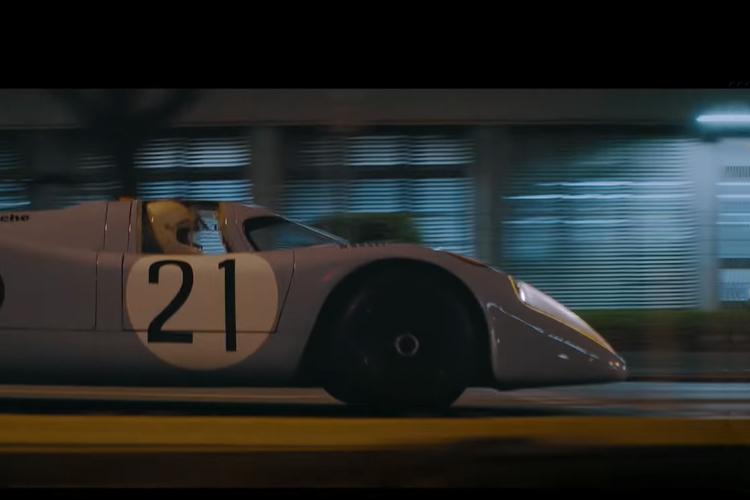 anuncio Porsche para Superbowl modelo 917K de las 24 horas de le Mans