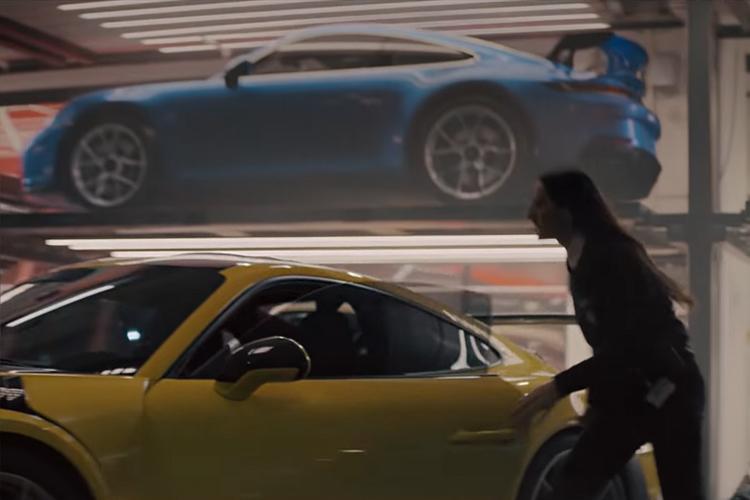 anuncio para Superbowl vehículo nuevo 911 GT3
