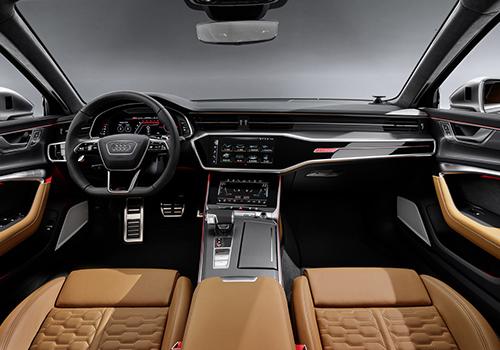 audi rs6 avant vagoneta deportivo interior sistema de infoentretenimiento con 3 pantallas