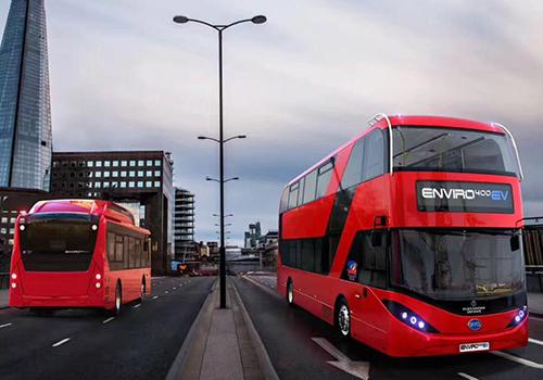 autobus rojo autobuses ecologicos electricos