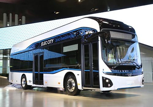 autobus electrico de Hyundai carga completa en 72 minutos