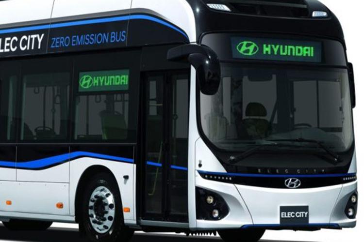 autobus electrico de Hyundai dos pisos