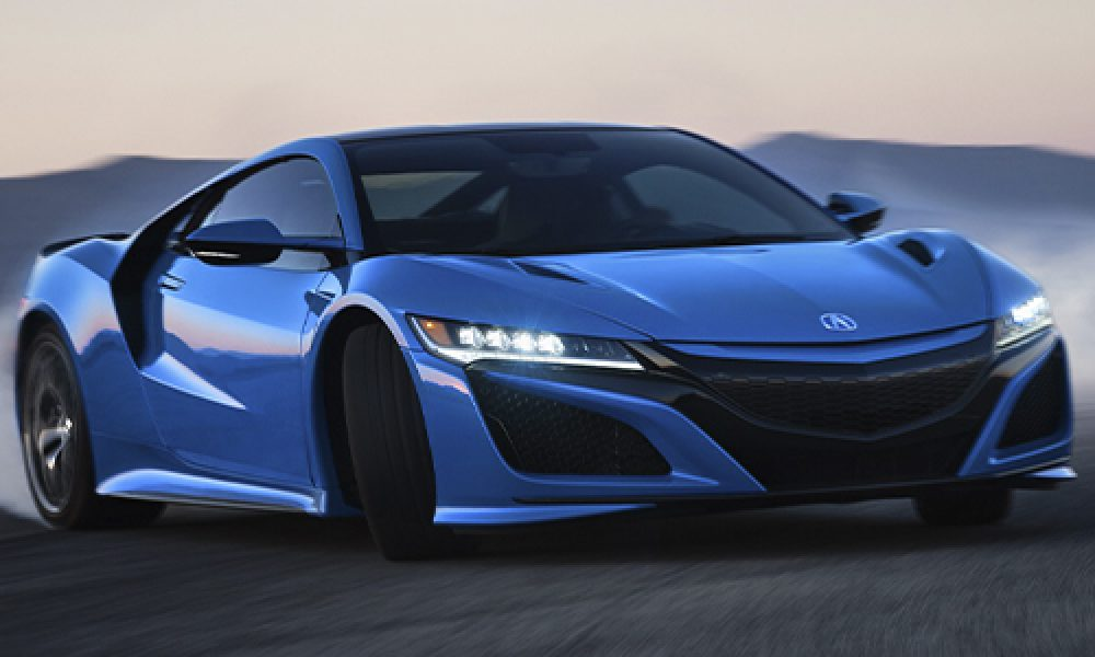 Acura NSX Long Beach Blue 2021 nuevo color exclusivo Tributo