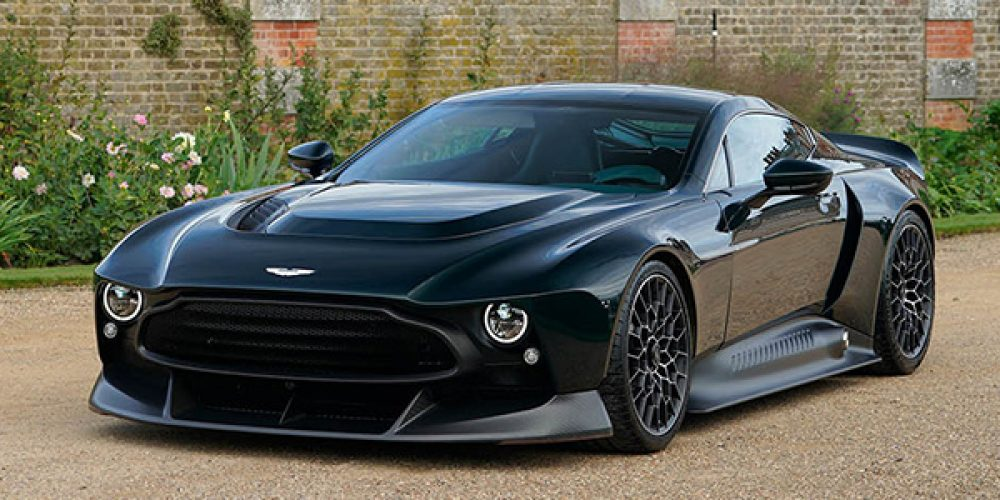 Aston Martin Victor, one-off con 848 CV