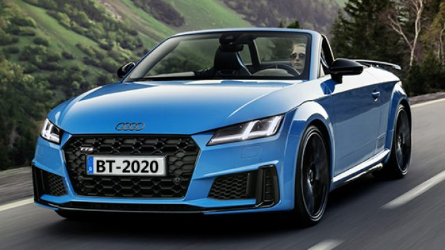Audi TTS Competition Plus, más deportivo y potente