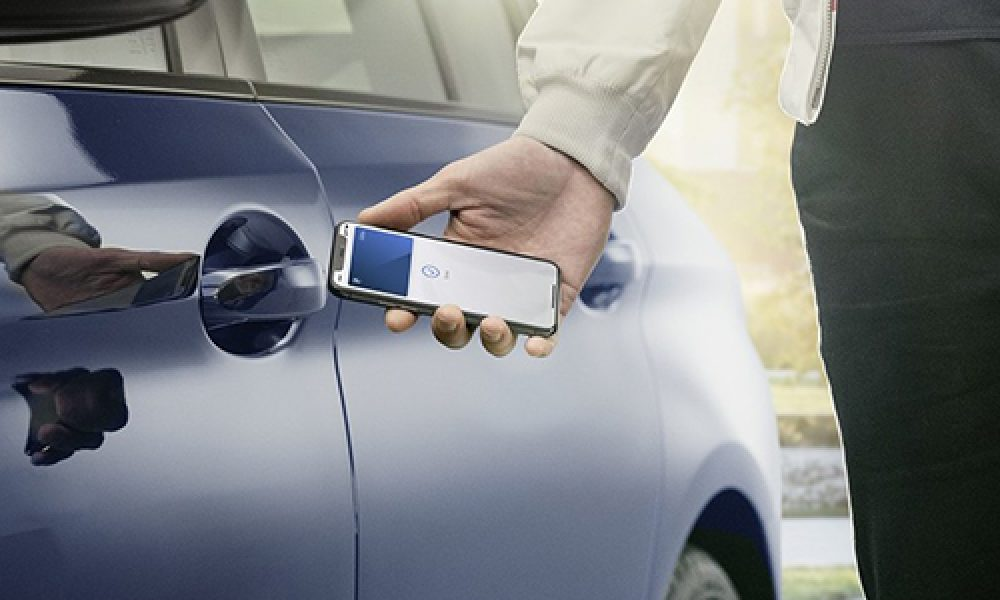 BMW Digital Key abre tu celular con tu iphone