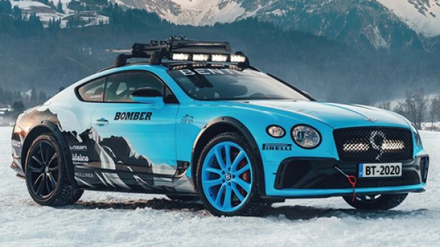 Bentley Continental GT GP Ice Race, competirá en nieve con 626 hp