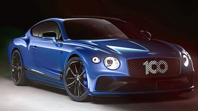 Bentley Continental GT Limited Edition, tributo Pikes Peak