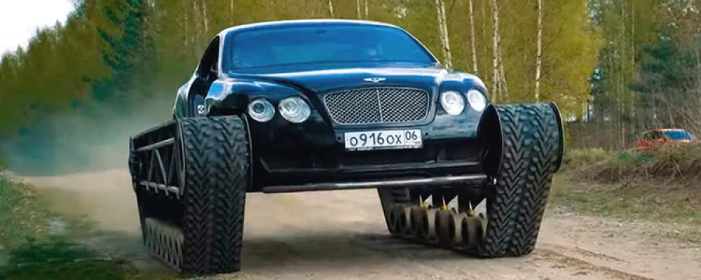 ¡Bentley Ultratank sobre orugas! El modificado Continental GT